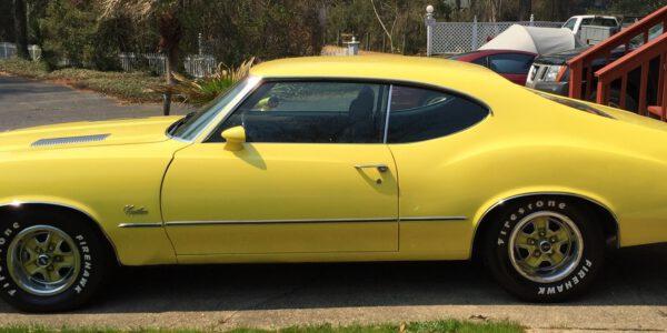 Yellow cutlass 1
