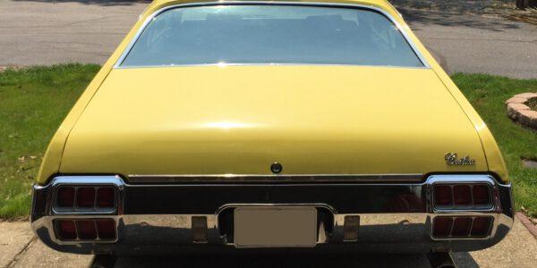 Yellow cutlass 4